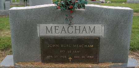 MEACHAM (VETERAN), JOHN BURL - Mississippi County, Arkansas | JOHN BURL MEACHAM (VETERAN) - Arkansas Gravestone Photos