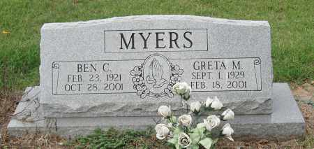 MEYERS, BEN C. - Mississippi County, Arkansas | BEN C. MEYERS - Arkansas Gravestone Photos