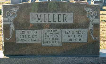 MILLER, EVA - Mississippi County, Arkansas | EVA MILLER - Arkansas Gravestone Photos