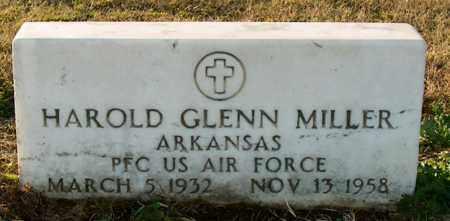 MILLER (VETERAN), HAROLD GLENN - Mississippi County, Arkansas | HAROLD GLENN MILLER (VETERAN) - Arkansas Gravestone Photos