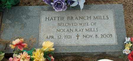 MILLS, HATTIE BRANCH - Mississippi County, Arkansas | HATTIE BRANCH MILLS - Arkansas Gravestone Photos