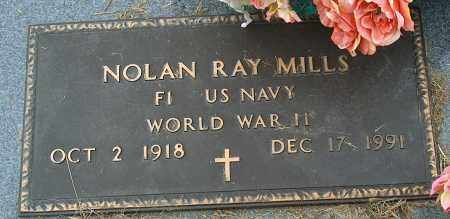 MILLS (VETERAN WWII), NOLAN RAY - Mississippi County, Arkansas | NOLAN RAY MILLS (VETERAN WWII) - Arkansas Gravestone Photos