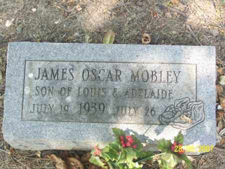 MOBLEY, JAMES OSCAR - Mississippi County, Arkansas | JAMES OSCAR MOBLEY - Arkansas Gravestone Photos