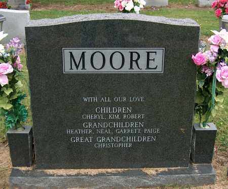 MOORE, GOLDIE M - Mississippi County, Arkansas | GOLDIE M MOORE - Arkansas Gravestone Photos