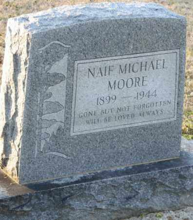 MOORE, NAIF MICHAEL - Mississippi County, Arkansas | NAIF MICHAEL MOORE - Arkansas Gravestone Photos