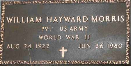MORRIS  (VETERAN WWII), WILLIAM HAYWARD - Mississippi County, Arkansas | WILLIAM HAYWARD MORRIS  (VETERAN WWII) - Arkansas Gravestone Photos