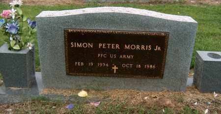 MORRIS, JR (VETERAN), SIMON PETER - Mississippi County, Arkansas | SIMON PETER MORRIS, JR (VETERAN) - Arkansas Gravestone Photos