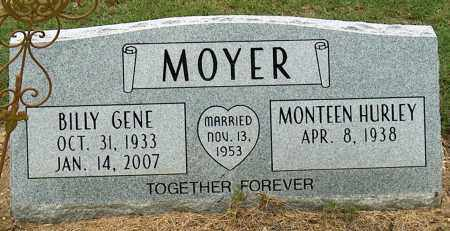 MOYER, BILLY GENE - Mississippi County, Arkansas | BILLY GENE MOYER - Arkansas Gravestone Photos