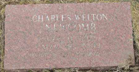 NEWCOMB, CHARLES WELTON - Mississippi County, Arkansas | CHARLES WELTON NEWCOMB - Arkansas Gravestone Photos