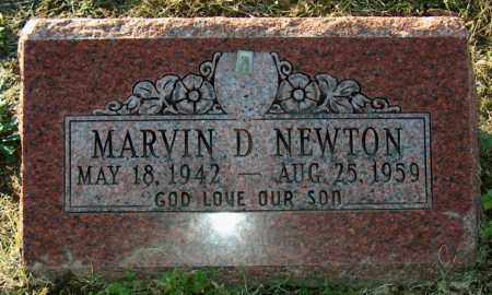 NEWTON, MARVIN D - Mississippi County, Arkansas | MARVIN D NEWTON - Arkansas Gravestone Photos