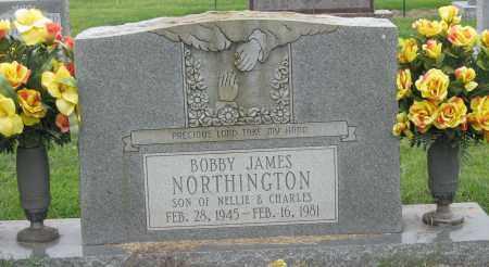 NORTHINGTON, BOBBY JAMES - Mississippi County, Arkansas | BOBBY JAMES NORTHINGTON - Arkansas Gravestone Photos