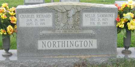 NORTHINGTON, CHARLES RICHARD - Mississippi County, Arkansas | CHARLES RICHARD NORTHINGTON - Arkansas Gravestone Photos