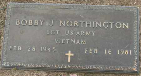 NORTHINGTON (VETERAN VIET), BOBBY J - Mississippi County, Arkansas | BOBBY J NORTHINGTON (VETERAN VIET) - Arkansas Gravestone Photos