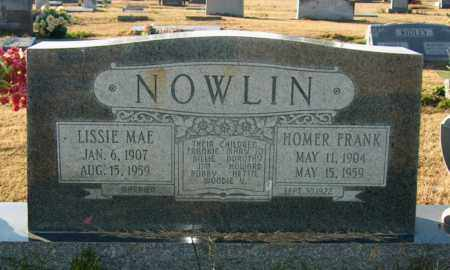 NOWLIN, HOMER FRANK - Mississippi County, Arkansas | HOMER FRANK NOWLIN - Arkansas Gravestone Photos