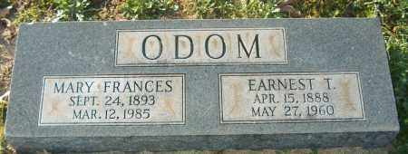 ODOM, MARY FRANCES - Mississippi County, Arkansas | MARY FRANCES ODOM - Arkansas Gravestone Photos