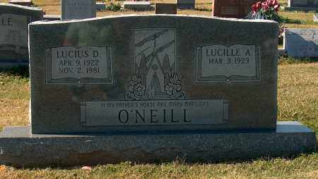 O'NEILL, LUCIUS D - Mississippi County, Arkansas | LUCIUS D O'NEILL - Arkansas Gravestone Photos