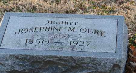 OURY, JOSEPHINE M. - Mississippi County, Arkansas | JOSEPHINE M. OURY - Arkansas Gravestone Photos
