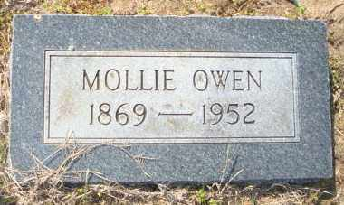 OWEN, MOLLIE - Mississippi County, Arkansas | MOLLIE OWEN - Arkansas Gravestone Photos