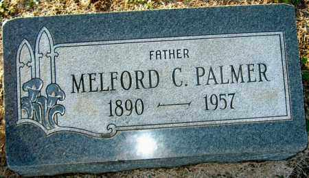 PALMER, MELFORD C - Mississippi County, Arkansas | MELFORD C PALMER - Arkansas Gravestone Photos