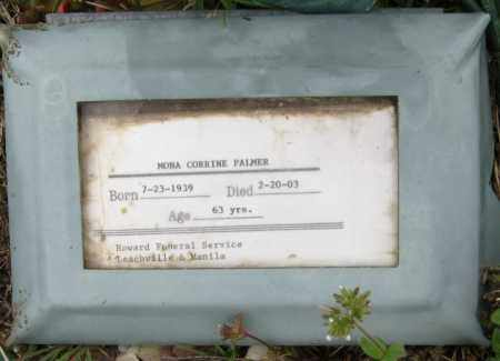 PALMER, MONA CORRINE - Mississippi County, Arkansas | MONA CORRINE PALMER - Arkansas Gravestone Photos