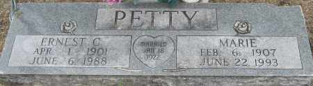 PETTY, MARIE - Mississippi County, Arkansas | MARIE PETTY - Arkansas Gravestone Photos