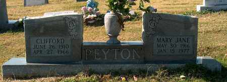 PEYTON, CLIFFORD - Mississippi County, Arkansas | CLIFFORD PEYTON - Arkansas Gravestone Photos