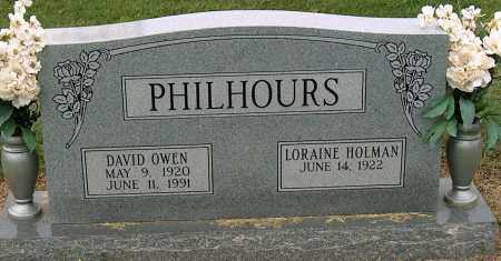 PHILHOURS, DAVID OWEN - Mississippi County, Arkansas | DAVID OWEN PHILHOURS - Arkansas Gravestone Photos