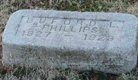 PHILLIPS, BUFORD L. - Mississippi County, Arkansas | BUFORD L. PHILLIPS - Arkansas Gravestone Photos