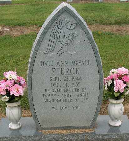 MCFALL PIERCE, OVIE ANN - Mississippi County, Arkansas | OVIE ANN MCFALL PIERCE - Arkansas Gravestone Photos
