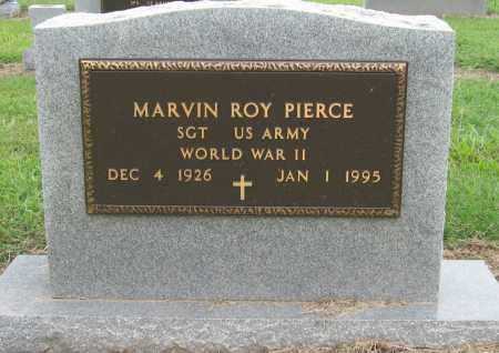 PIERCE (VETERAN WWII), MARVIN ROY - Mississippi County, Arkansas | MARVIN ROY PIERCE (VETERAN WWII) - Arkansas Gravestone Photos