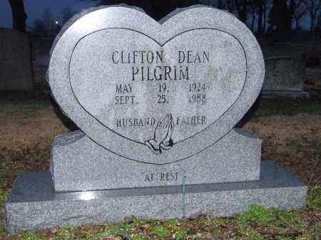 PILGRIM, CLIFTON DEAN - Mississippi County, Arkansas | CLIFTON DEAN PILGRIM - Arkansas Gravestone Photos