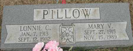 PILLOW, LONNIE C - Mississippi County, Arkansas | LONNIE C PILLOW - Arkansas Gravestone Photos