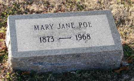 POE, MARY JANE - Mississippi County, Arkansas | MARY JANE POE - Arkansas Gravestone Photos