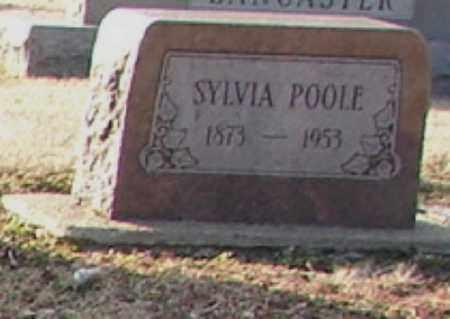 POOLE, SYLVIA - Mississippi County, Arkansas | SYLVIA POOLE - Arkansas Gravestone Photos