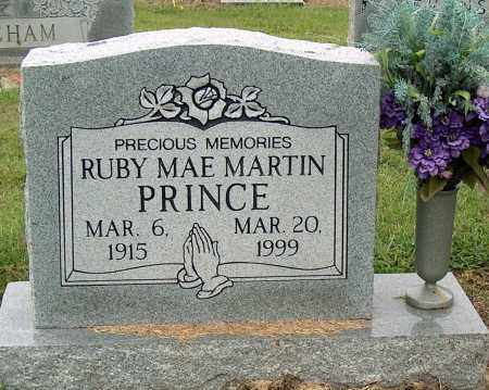 MARTIN PRINCE, RUBY MAE - Mississippi County, Arkansas | RUBY MAE MARTIN PRINCE - Arkansas Gravestone Photos