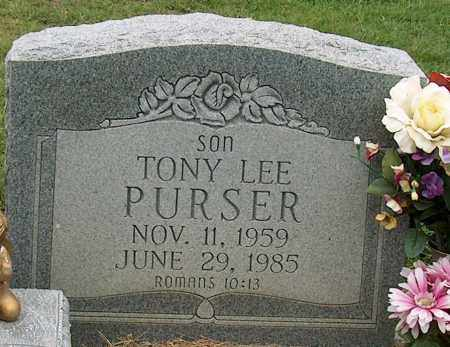 PURSER, TONY LEE - Mississippi County, Arkansas | TONY LEE PURSER - Arkansas Gravestone Photos