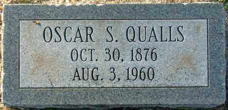 QUALLS, OSCAR S - Mississippi County, Arkansas | OSCAR S QUALLS - Arkansas Gravestone Photos