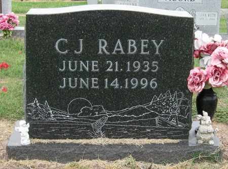RABEY, C J - Mississippi County, Arkansas | C J RABEY - Arkansas Gravestone Photos