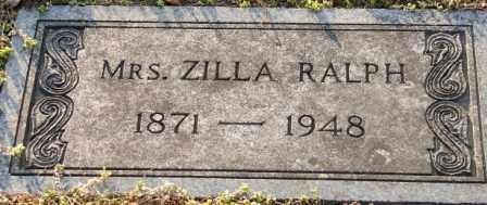 RALPH, ZILLA - Mississippi County, Arkansas | ZILLA RALPH - Arkansas Gravestone Photos