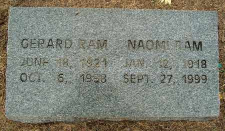 RAM, NAOMI - Mississippi County, Arkansas | NAOMI RAM - Arkansas Gravestone Photos