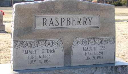 "RASPBERRY, EMMETT G. ""DICK"" - Mississippi County, Arkansas 