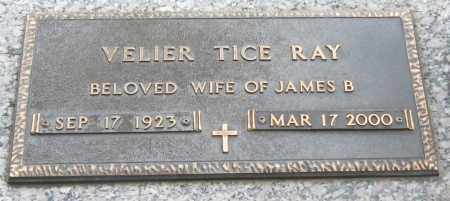 RAY, VELIER - Mississippi County, Arkansas | VELIER RAY - Arkansas Gravestone Photos