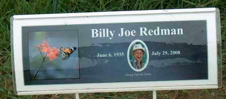 REDMAN, BILLY JOE - Mississippi County, Arkansas | BILLY JOE REDMAN - Arkansas Gravestone Photos