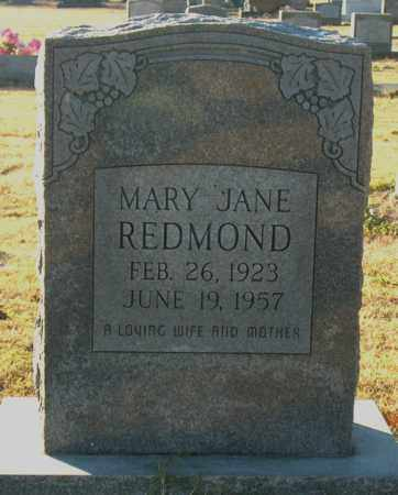 REDMOND, MARY JANE - Mississippi County, Arkansas | MARY JANE REDMOND - Arkansas Gravestone Photos