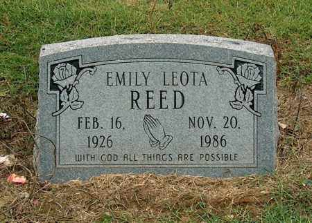 REED, EMILY LEOTA - Mississippi County, Arkansas | EMILY LEOTA REED - Arkansas Gravestone Photos