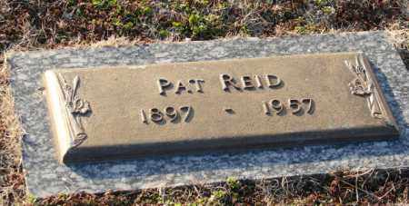 REID, PAT - Mississippi County, Arkansas | PAT REID - Arkansas Gravestone Photos