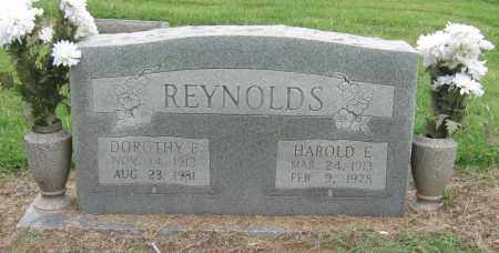 REYNOLDS, HAROLD E - Mississippi County, Arkansas | HAROLD E REYNOLDS - Arkansas Gravestone Photos