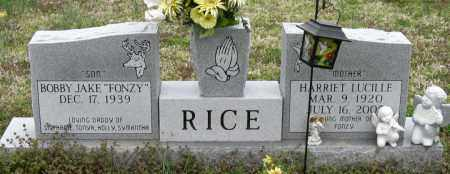 RICE, HARRIET LUCILLE - Mississippi County, Arkansas | HARRIET LUCILLE RICE - Arkansas Gravestone Photos