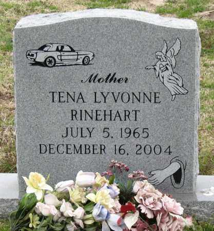 TOMBLIN RINEHART, TENA LYVONNE - Mississippi County, Arkansas | TENA LYVONNE TOMBLIN RINEHART - Arkansas Gravestone Photos