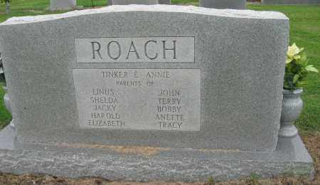 ROACH, WINFORD H (BACK OF STONE) - Mississippi County, Arkansas | WINFORD H (BACK OF STONE) ROACH - Arkansas Gravestone Photos